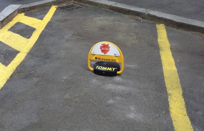 Arriva Tommy, il salva parcheggio per disabili