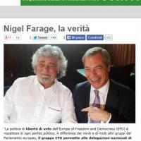 M5s, la difesa di Grillo non basta. I militanti contro Farage