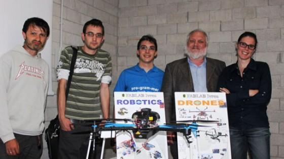 Il drone più sicuro al mondo è italiano, lo ha ispirato Olivetti