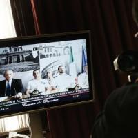 """Marò in videoconferenza: """"Siamo innocenti, India e Italia dialoghino per pace """""""