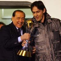 Milan, Berlusconi: ''Inzaghi allenatore? Decideremo in consiglio''