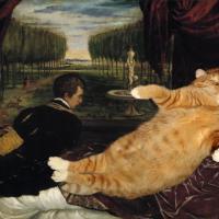 Disegni e dipinti di gatti Анастасия Извольская Arte Del Tè, Bellissimi Dipinti, Galleria Darte, Delft.