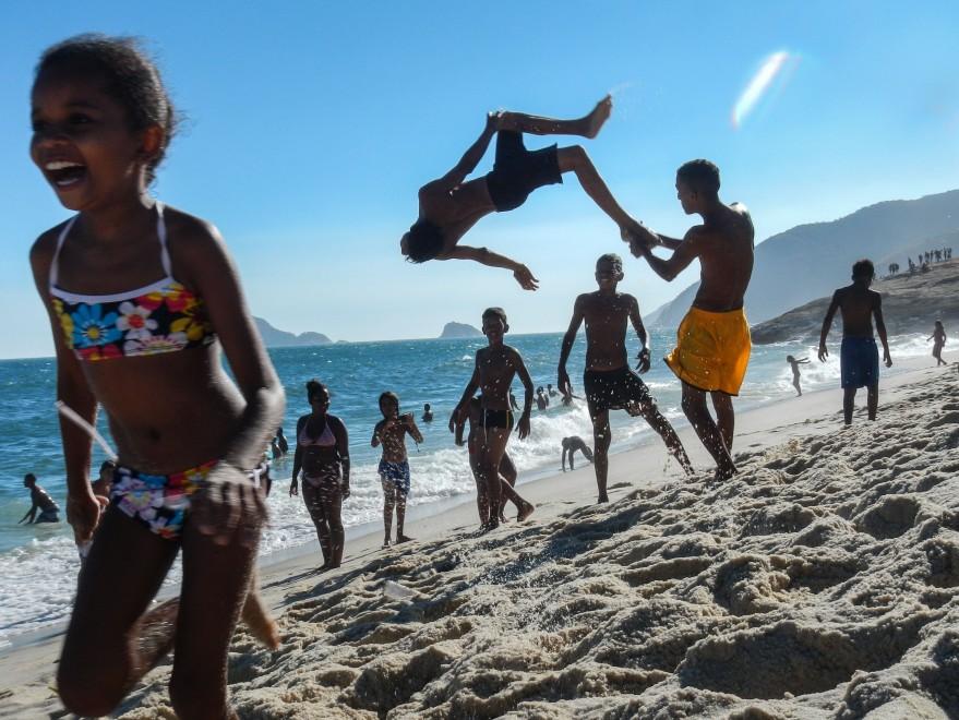 Nella favela di Rio: il fotoreportage è dei bambini