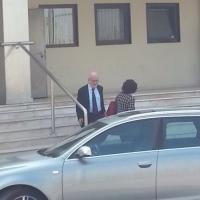 Mose, il sindaco Orsoni esce dall'aula bunker di Mestre