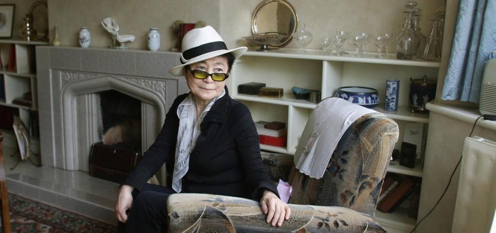 """Yoko Ono: """"Da Imagine alla realtà l'arte ha cambiato le nostre vite"""""""