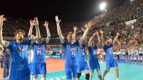 Volley, World League: l'Italia brilla anche all'aperto, con la Polonia la sesta vittoria consecutiva