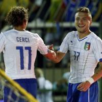 Le pagelle di Italia-Fluminense: Immobile su tutti, disastro Perin