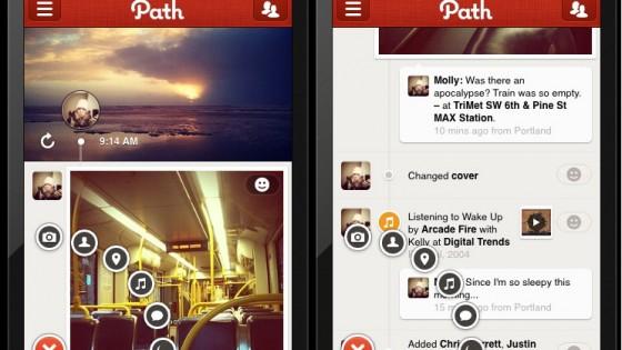 """Messaggi usa e getta anche su Path, il social """"privato"""""""