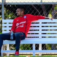 Brasile 2014, Cile in ansia per Vidal: non si allena e rischia di saltare il Mondiale