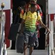 Polemiche alle spalle, Camerun in Brasile: Eto'o in posa da 'Cristo del Corcovado'