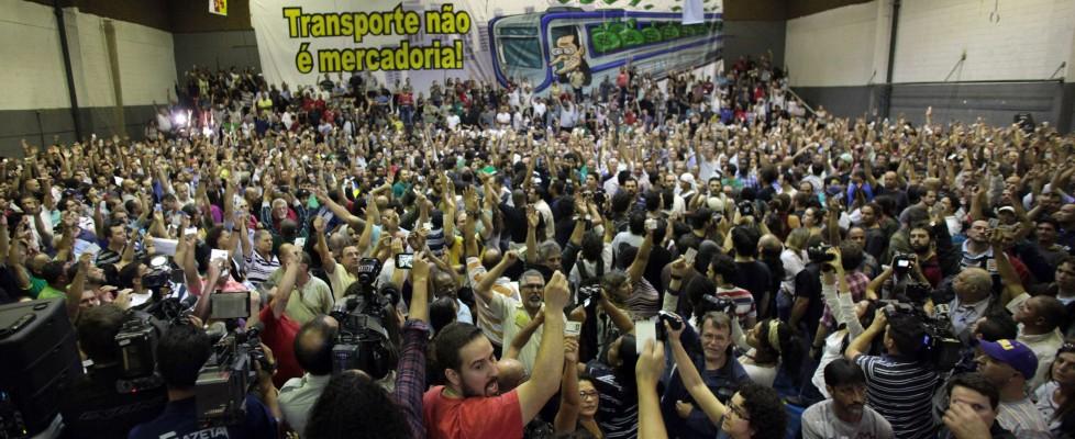 Brasile 2014, due giorni di stop a sciopero metro San Paolo, ma inaugurazione ancora a rischio