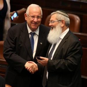 Israele, Reuven Rivlin è il nuovo presidente