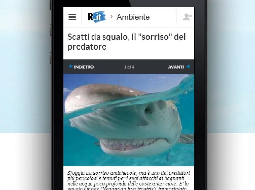 Mobile ecco il nuovo sito for Sito repubblica