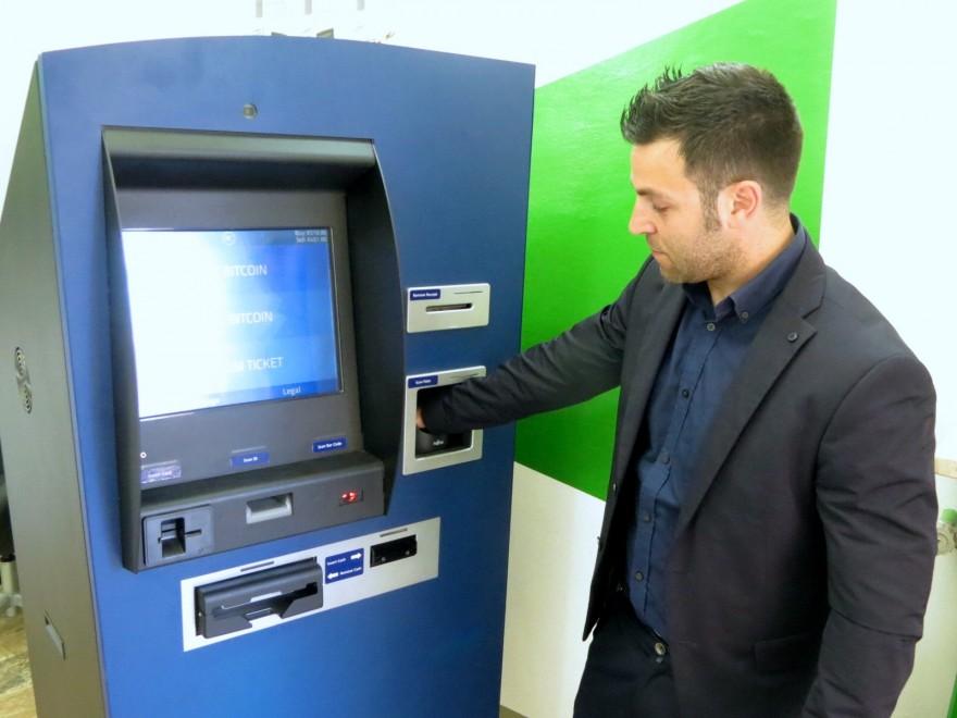 Anche in Italia lo sportello bancomat per Bitcoin