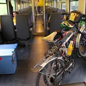 Con le due ruote sui treni? In Italia è un'odissea