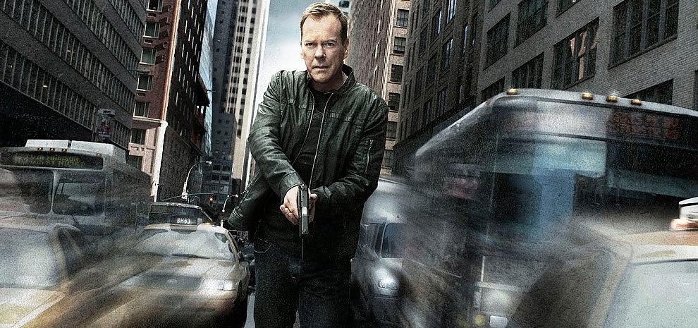 """24 - Live another day"": Kiefer Sutherland torna a correre"