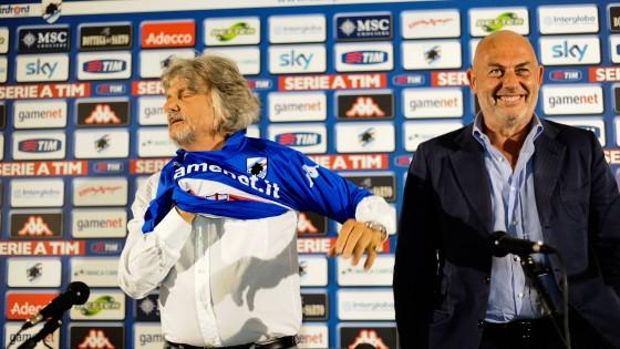 Sampdoria, Garrone vende la società a Massimo Ferrero