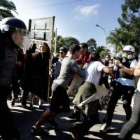 Brasile 2014, scontri a San Paolo: pallottole di gomma sulla folla, tra i feriti due giornaliste della Cnn e un operatore locale