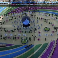 Brasile 2014, Mondiali al via: il fotoracconto della cerimonia