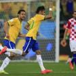 Brasile-Croazia 3-1, Seleçao subito nel segno di Neymar