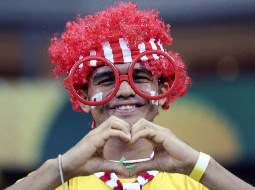 Brasile 2014, il carnevale dei Mondiali: le mille maschere dei tifosi
