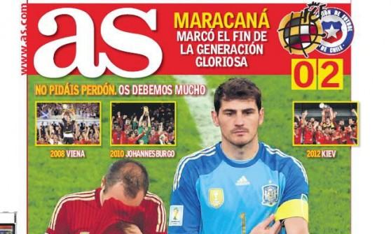 Stampa spagnola tra accuse e ringraziamenti. Ma per tutti è la fine di un ciclo