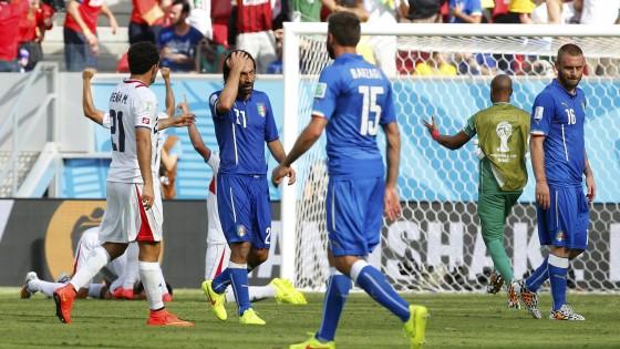Mondiali, l'Italia perde la partita più difficile