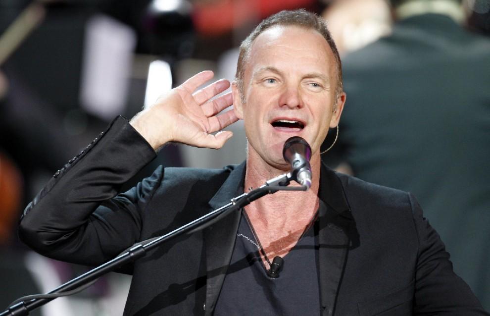 Sting: ''Niente eredità per i miei sei figli. Devono lavorare''