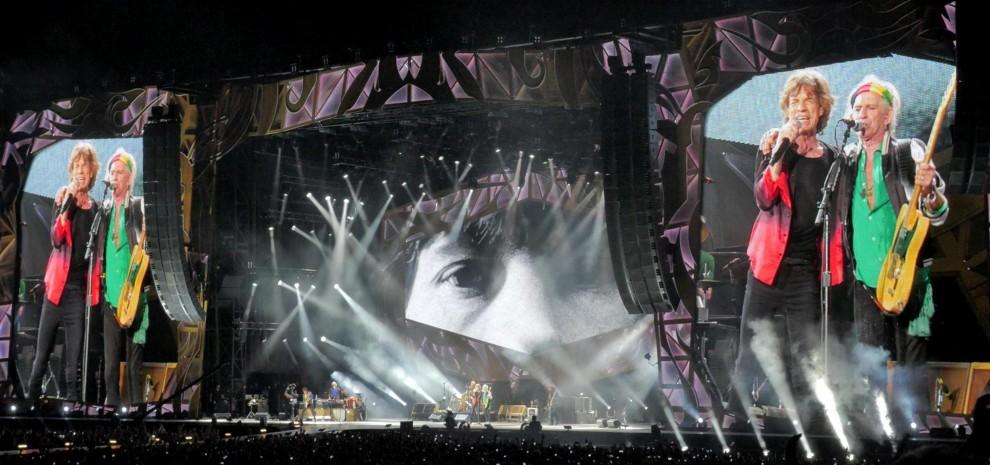 """L'abbraccio di Roma ai Rolling Stones. Jagger: """"Che posto meraviglioso il Circo Massimo"""""""