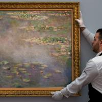 Gb, Monet venduto all'asta per 40 milioni di euro