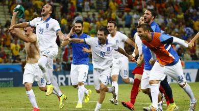 Grecia-Costa d'Avorio 2-1: Samaras spedisce i suoi agli ottavi, ora il Costarica
