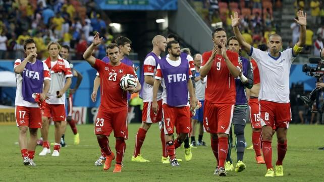 Honduras-Svizzera 0-3: Shaqiri superstar, adesso è sfida con Messi