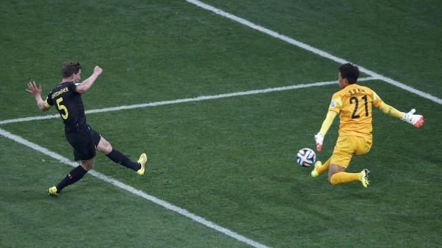 Corea del Sud-Belgio 0-1, Diavoli rossi a punteggio pieno: ora gli Stati Uniti