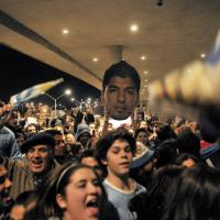 Uruguay, i tifosi aspettano Suarez