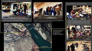 Iraq, esecuzioni di massa a Tikrit   Le immagini scattate dal satellite