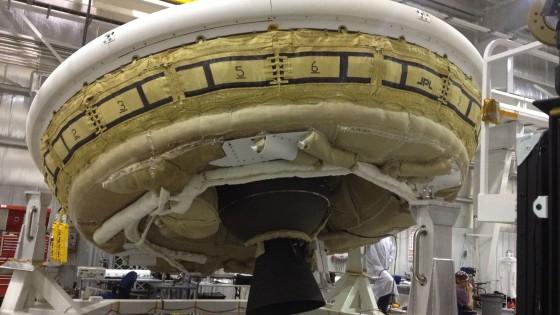 La Nasa testa Ldsd, il 'disco volante' per sbarcare su Marte