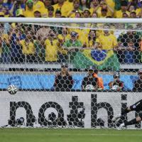Brasile 2014, la sequenza dei rigori di Brasile-Cile