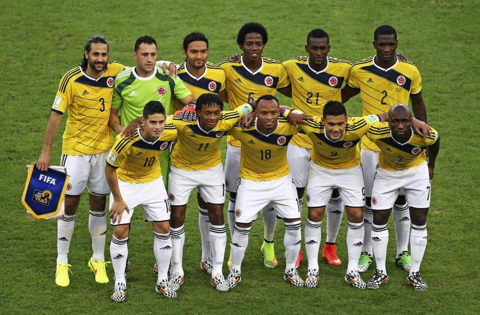 Brasile 2014, il film di Colombia-Uruguay