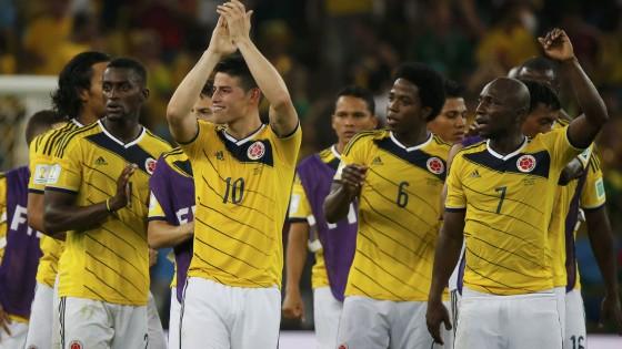 Colombia-Uruguay 2-0: doppio James Rodriguez, nei quarti c'è il Brasile. Celeste a casa
