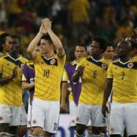 Colombia-Uruguay 2-0: doppio James Rodriguez, nei quarti c'è il Brasile.