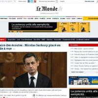 Francia, Sarkozy in stato di fermo: la notizia sui siti stranieri