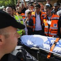 Israele in lutto: i funerali di Eyal, Gilad e Naftali