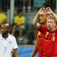 Belgio-Stati Uniti 2-1: De Bruyne e Lukaku lanciano i Diavoli Rossi nei
