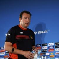 """Belgio, Wilmots: """"Possiamo fare la storia. L'arbitro italiano non mi"""