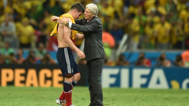 """Colombia, Rodriguez: ''La tristezza è tanta''. Pekerman: """"Pagato il gol a freddo"""""""