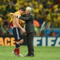 """Colombia, Rodriguez: ''La tristezza è tanta''. Pekerman: """"Pagato"""