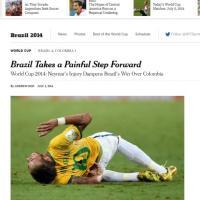 L'infortunio di Neymar sui principali siti e quotidiani stranieri