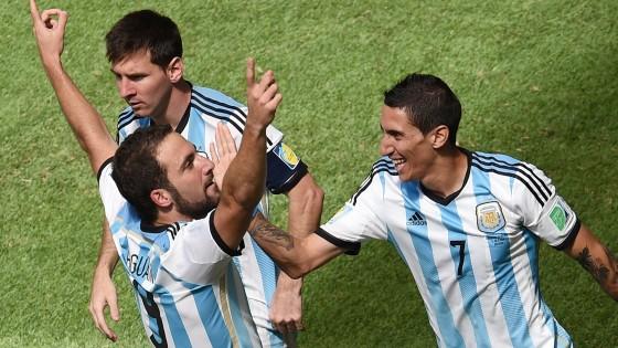 Argentina-Belgio 1-0, di Higuain il gol che vale la semifinale: ora c'è l'Olanda