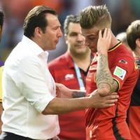 """Belgio, Wilmots: """"Delusi, ma siamo diventati una grande squadra"""""""