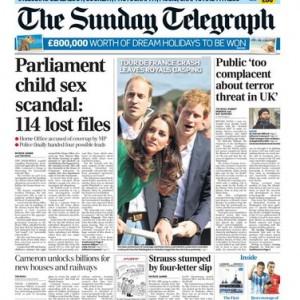 """Scandalo pedofilia nel Parlamento Inglese<br />""""Chi ha insabbiato l'inchiesta?"""""""